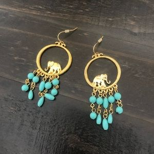 Lilly Pulitzer Statement Earrings